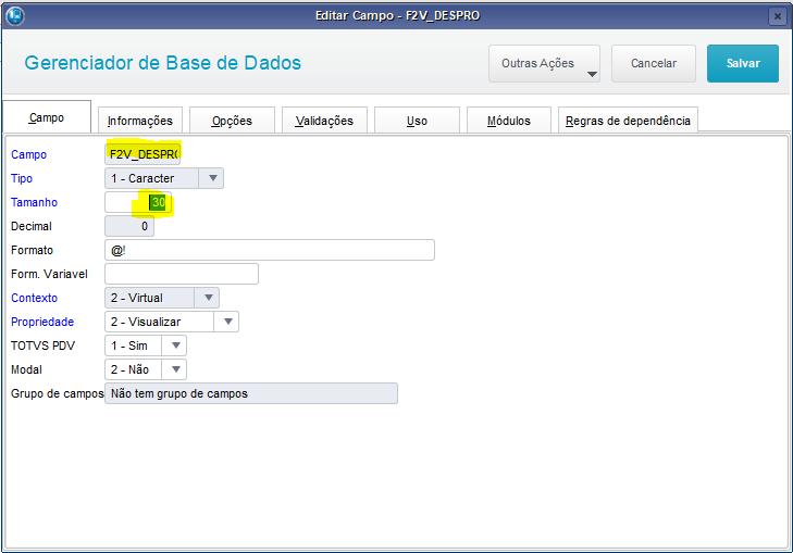 4695a82ad8 O arquivo gerado pelo P7 não trouxe os valores do produto  Neste cenário